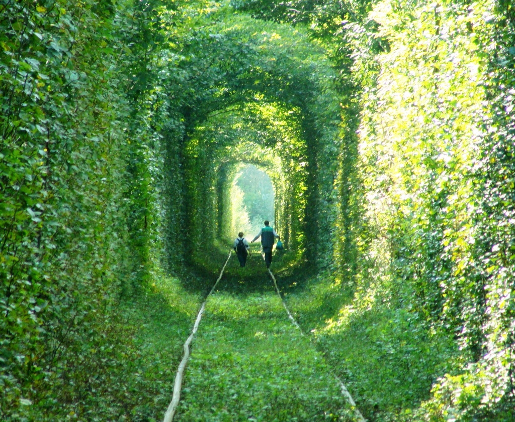 Tunnel of Love -  Klevan - regione Rivne - Ucraina