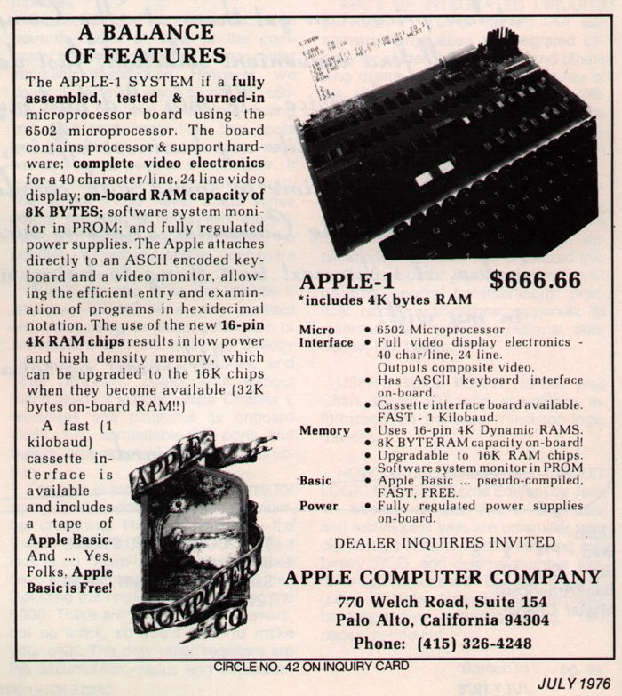 1976-apples-first-ever-ad-note-the-typo-in-the-very-first-sentence-and-the-number-of-the-beast-pricing-and-the-unreadable-logo