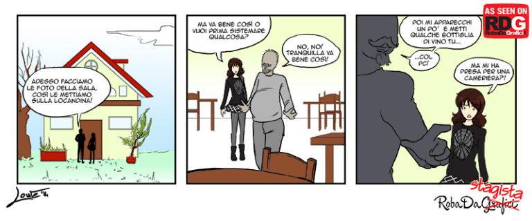 Roba da stagista – Cameriere!