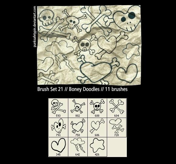 Boney Doodles