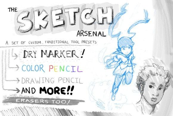 The Sketch Arsenal