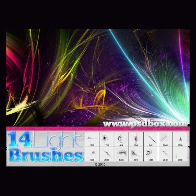 Light Streak Brushes