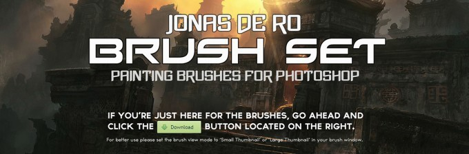 brush_set_photoshop_painting_brushes_by_jonasdero-680x224 3000 pennelli di photoshop in alta risoluzione e free