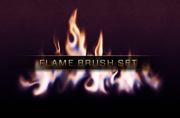 free-flame-brush-pack-flames-photoshop-brushes 3000 pennelli di photoshop in alta risoluzione e free