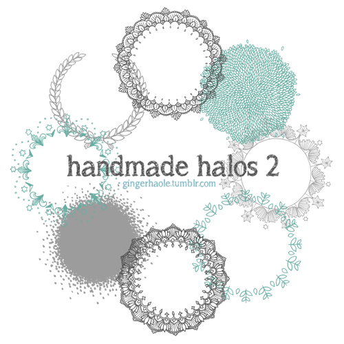 handmade_halos_2_photoshop_brush_set_by_lily_fox 3000 pennelli di photoshop in alta risoluzione e free