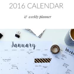 2016-printable-calendar-weekly-planner-minimalist-monochrome