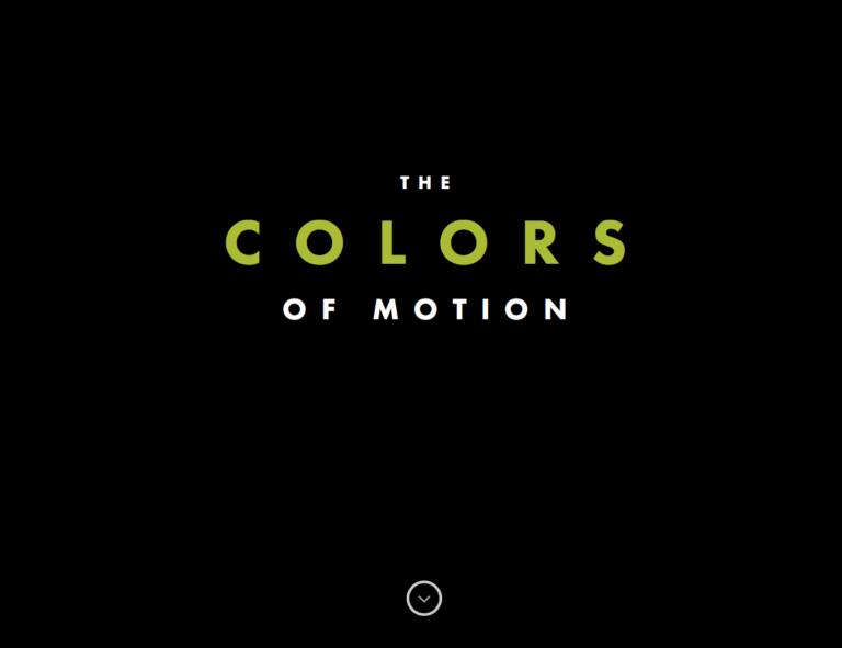 Le palette colori del cinema