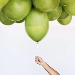 mela-palloncino
