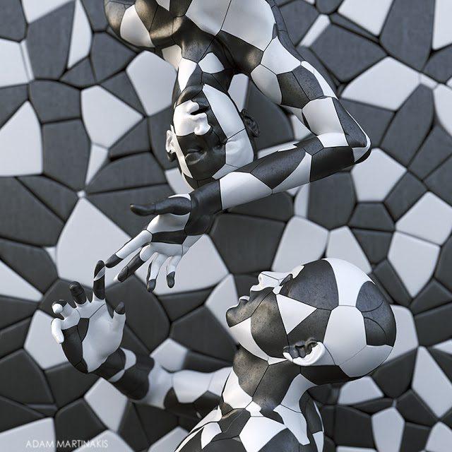 L' Arte digitale di Adam Martinakis e l'esplorazione delle emozioni
