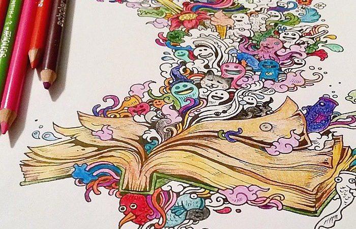 Colorare è un anti stress – 20 libri per adulti