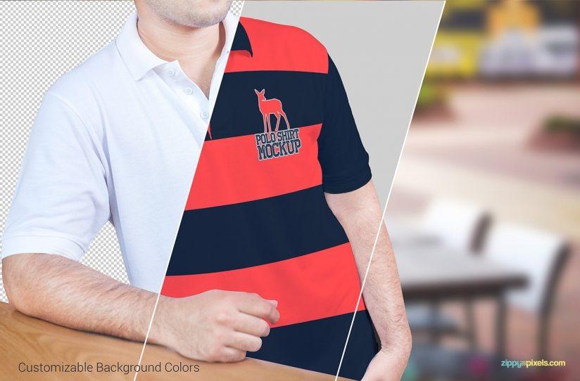 02-free-polo-shirt-mockup-PSD-824x542 55 mockup gratuti di libri, volantini poster e brochure e magliette!