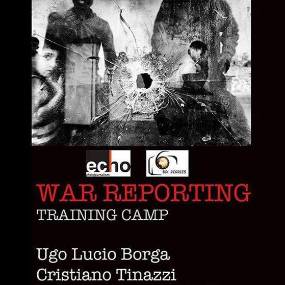 guerra war reporting locandina