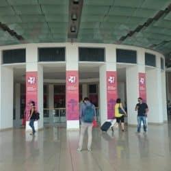 atrio di ingresso del  Web marketing Festival 2016