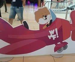 la mascott del  Web marketing Festival 2016