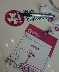 ingresso al  Web marketing Festival 2016