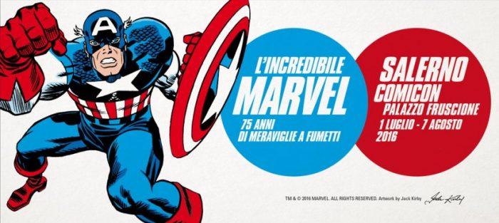 L' incredibile Marvel a Salerno – Salerno Comicon 2016