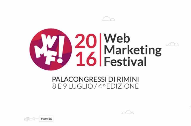 WMF! '16 WEB MARKETING FESTIVAL 2016