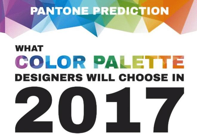 Previsioni Pantone: Quali Colori Sceglieranno i Designers nel 2017?