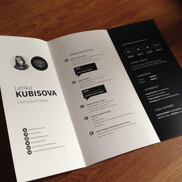 lenka-kubisova-2 Il curriculum del Creativo: 10 esempi da cui trarre ispirazione