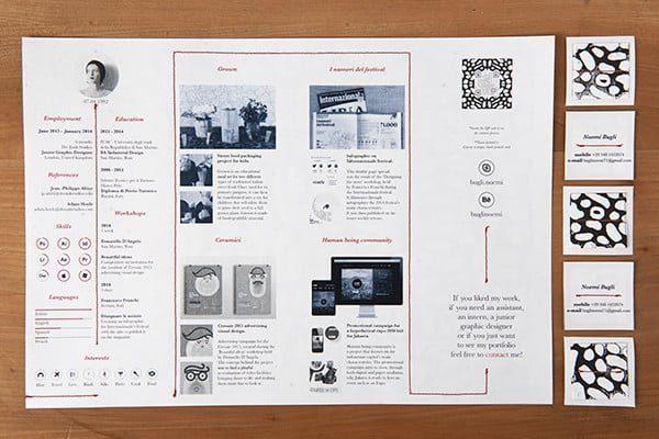 noemi-bugli-2-600x400 Il curriculum del Creativo: 10 esempi da cui trarre ispirazione