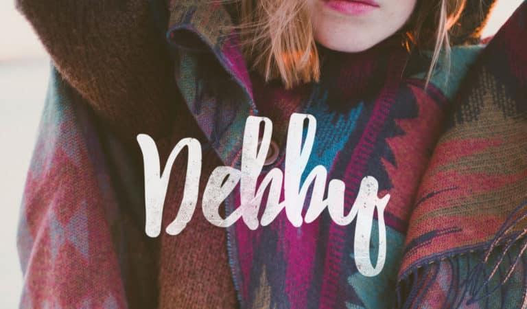 Font del giorno: Debby