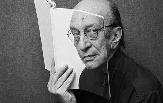 """Milton Glaser: """"Il senso dell'ironia è la più performante forma di comunicazione""""."""