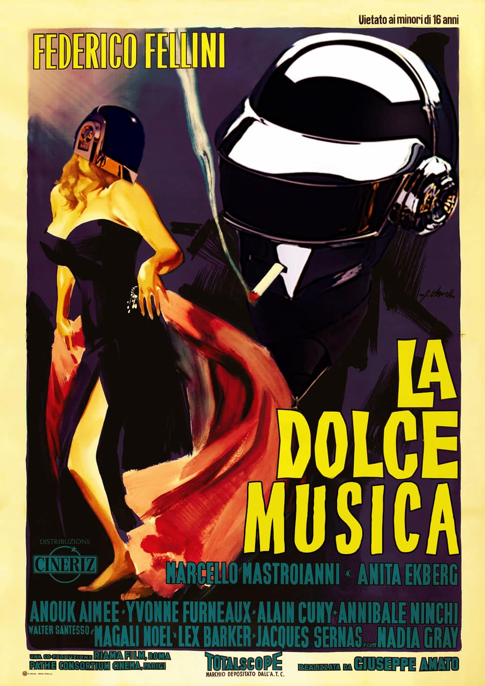 La-Dolce-Musica the rdg daft punk project in epic movies
