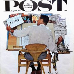 Post, Cover, 1961