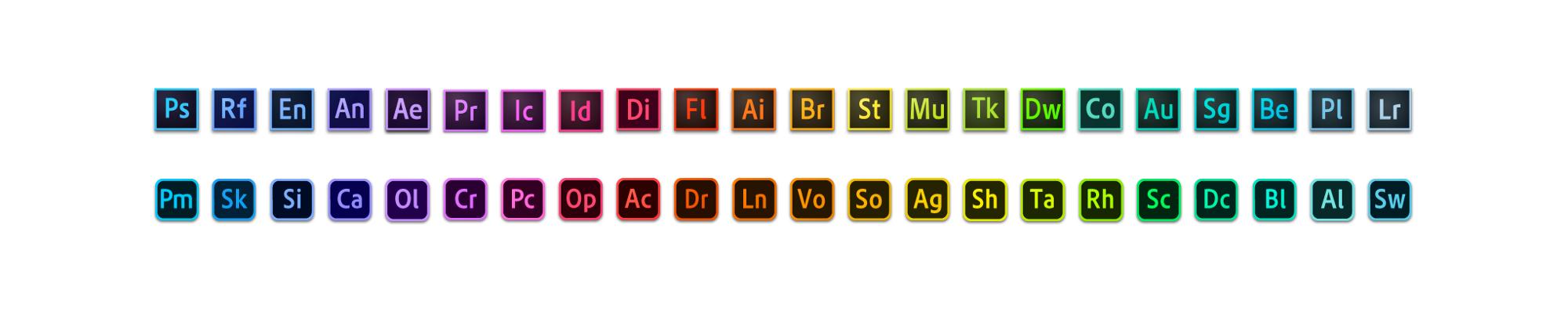 """Adobe-4 Evoluzione e restyling dell'Adobe """"Brand System"""""""