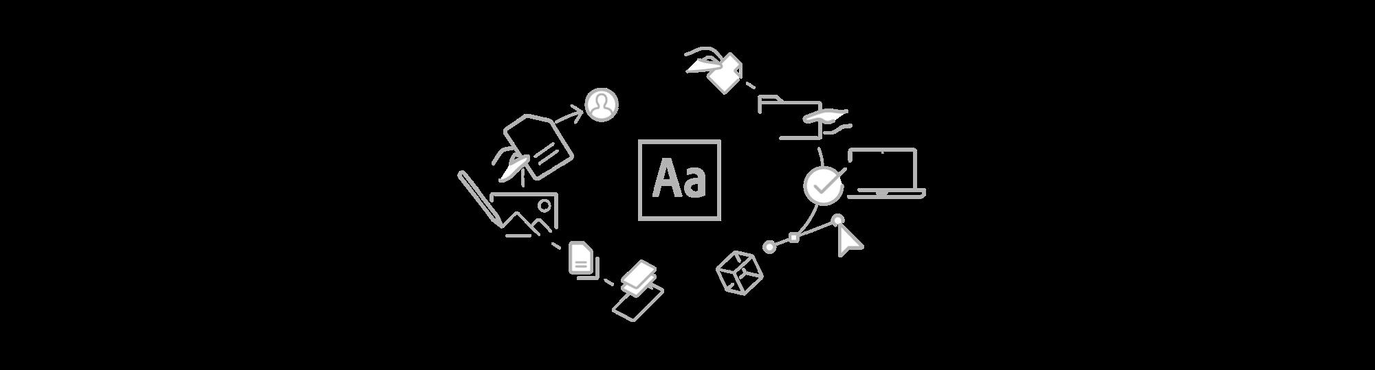 """Adobe-8 Evoluzione e restyling dell'Adobe """"Brand System"""""""