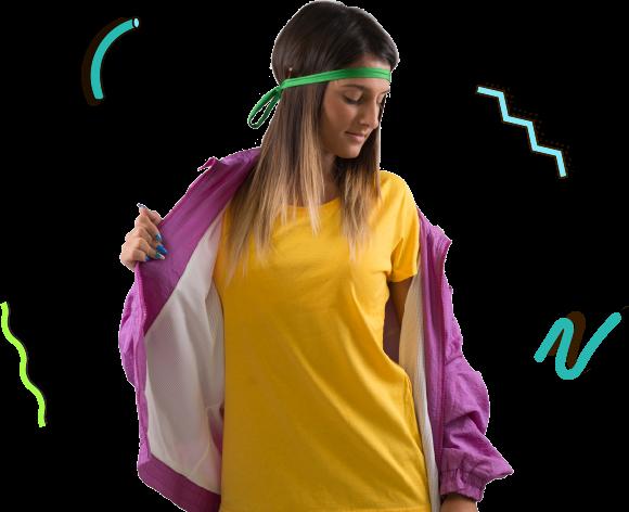 contest-fruit-donna Hanno chiamato gli anni novanta e vogliono stare sulla tua maglietta Teeser x Fruit of the Loom