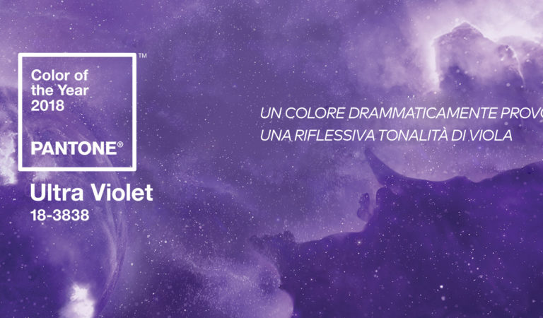 ULTRA VIOLET – PANTONE® COLOR OF THE YEAR 2018