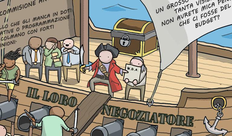 Clienti terribili spiegati con i pirati (e soluzioni)
