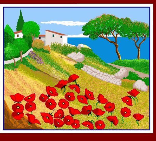 1521628325-5652-grand-mere-microsoft-paint-1-600x543 Nonnina spagnola di 87 anni conquista Instagram con le sue opere grafiche in Paint