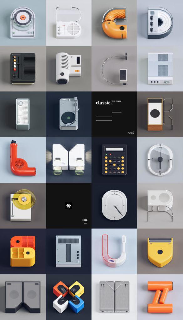 1521742619-7380-classic-design-typeface-2-585x1024 Classic Typeface – Omaggio Tipografico al design retro-futuristico di Dieter Rams