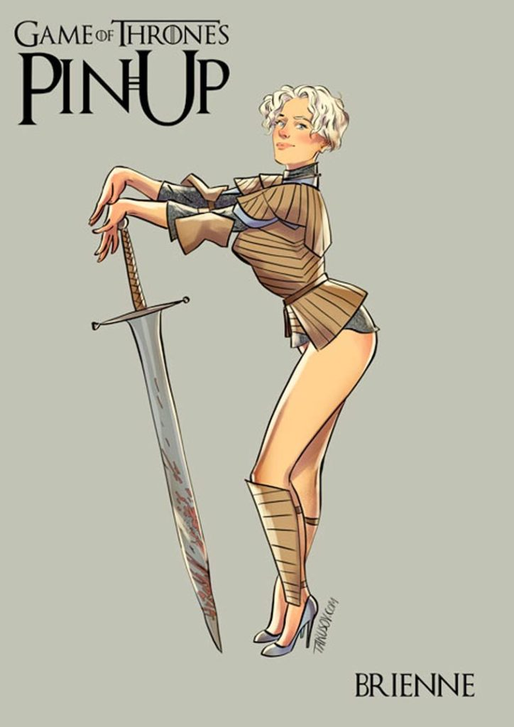 1521755995-2770-game-of-thrones-pin-up-6-724x1024 Le ragazze di Game of Thrones trasformate in Pin Ups