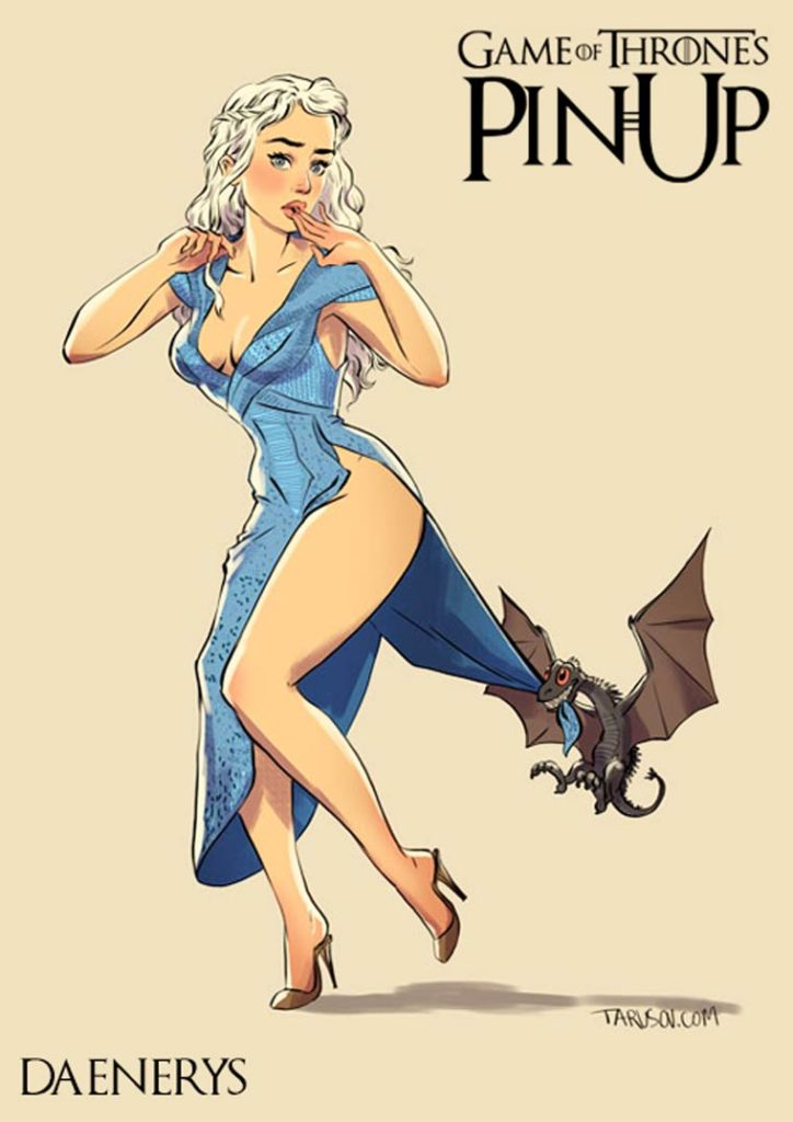 1521756042-6849-game-of-thrones-pin-up-12-724x1024 Le ragazze di Game of Thrones trasformate in Pin Ups