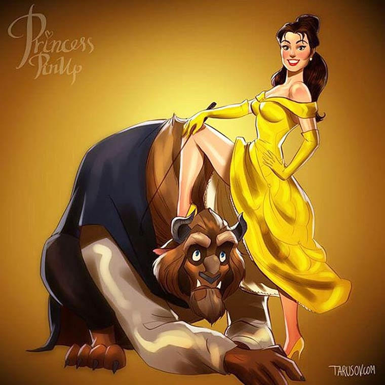 1521759060-9611-Disney-Pin-up-8 Quando le principesse Disney diventano delle pin-up!