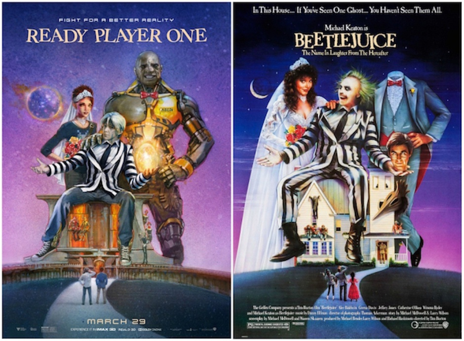 Ready-Player-One-Classic-All-Time-Favorite-Movie-Poster-Hijack-4-940x692 I poster hackerati di Ready Player One