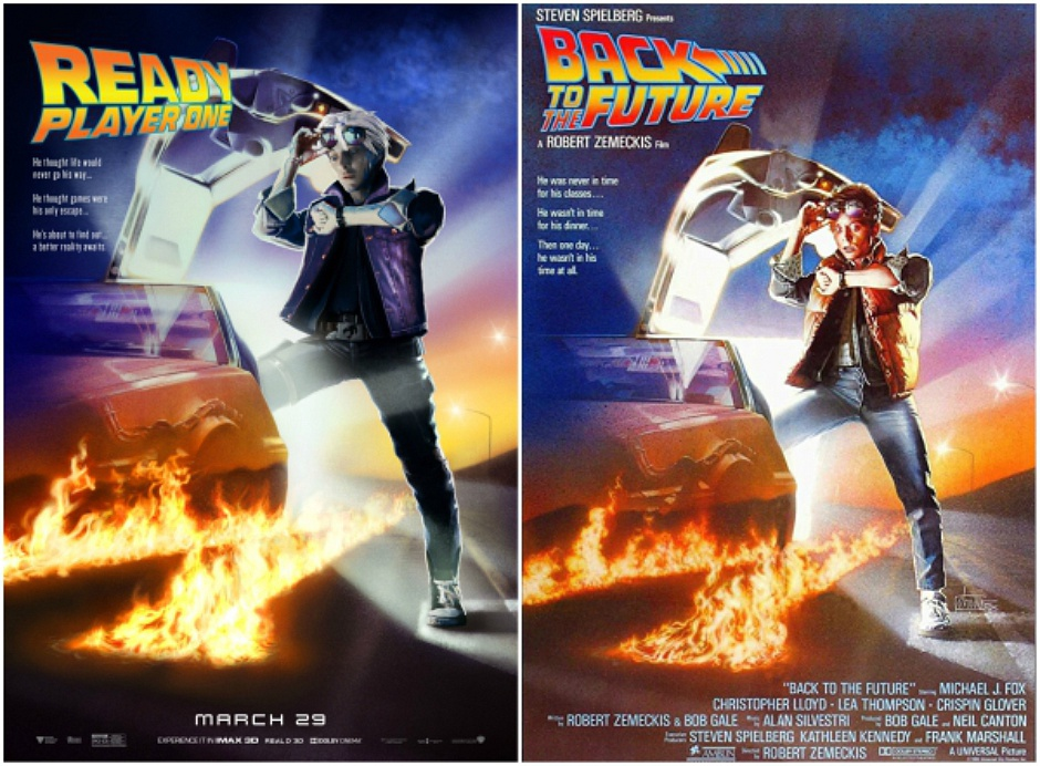Ready-Player-One-Classic-All-Time-Favorite-Movie-Poster-Hijack-6-940x692 I poster hackerati di Ready Player One