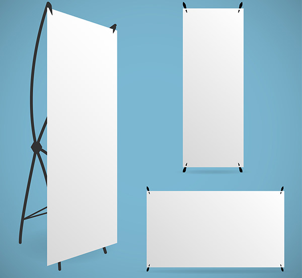 Blank RollUp Banners