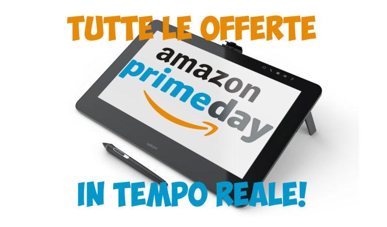 Amazon Prime Day: le offerte perfette per te, in tempo reale