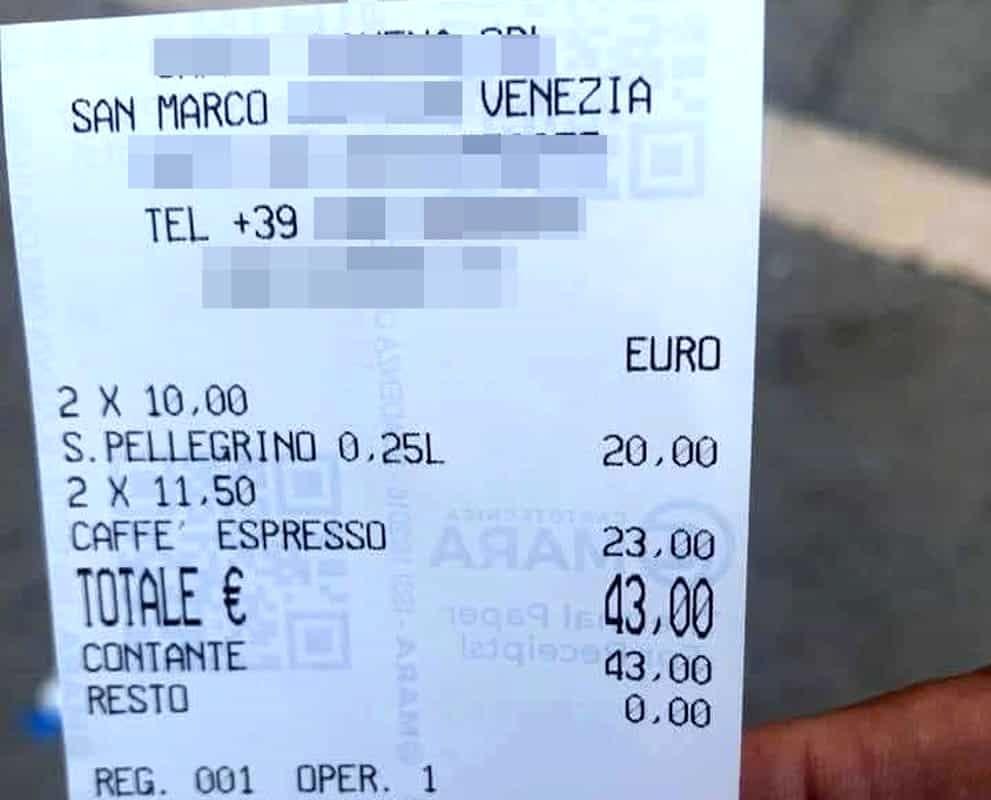 scontrino-venezia-piazza-san-marco-2-1 Dovresti farti pagare a tariffa oraria?