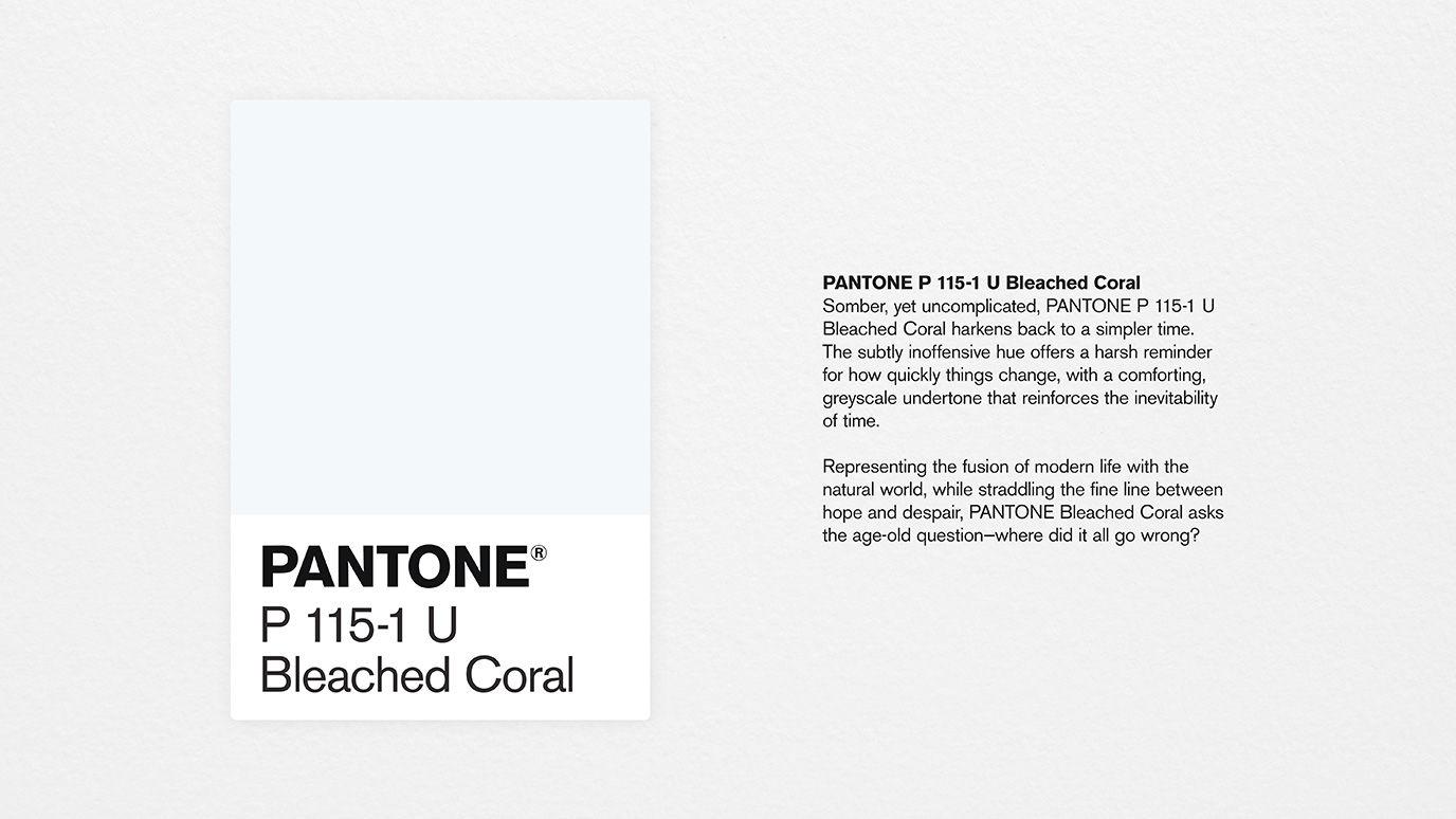 coloroftheyear_swatchdescription-1 Il colore pantone del 2020 'sarà Bleached Coral'