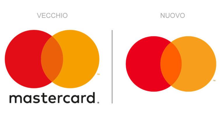 Mastercard fa un nuovo logo rebrand e toglie il logotipo