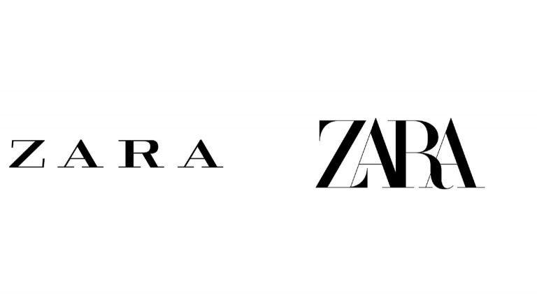 Il nuovo logo di ZARA 'kernato' all'impossibile!