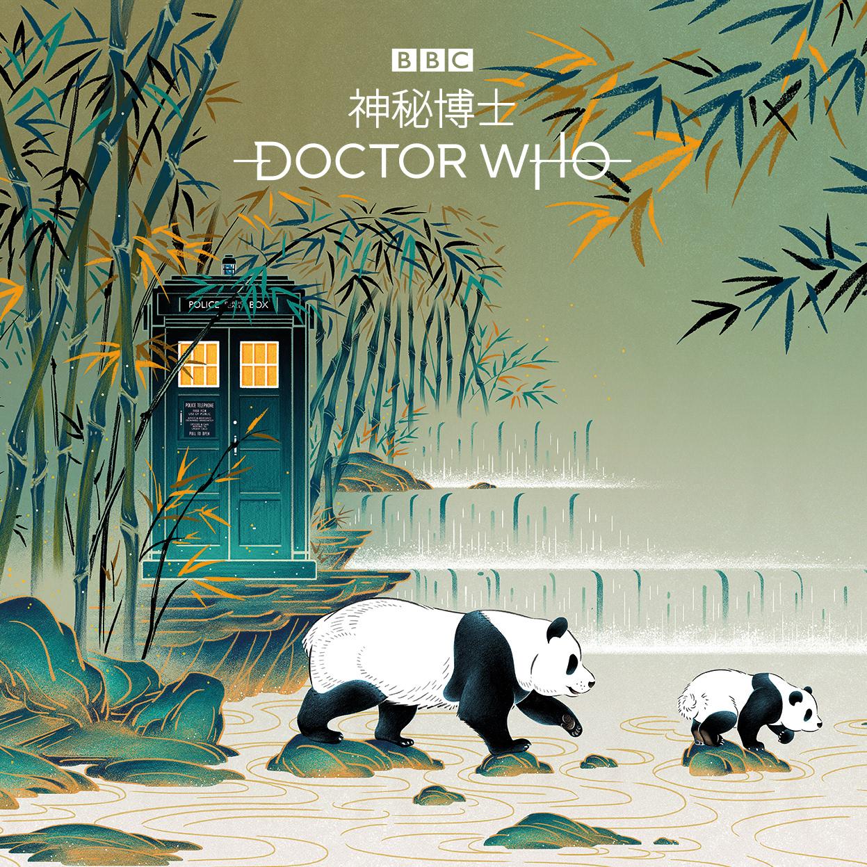 feifei-ruan-dr-who-05 Il TARDIS della serie Doctor Who si fa un viaggio in cina!
