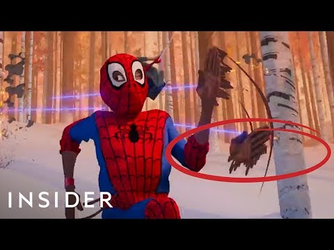 hqdefault L'incredibile arte dietro Spider-Man into the Spider-Verse