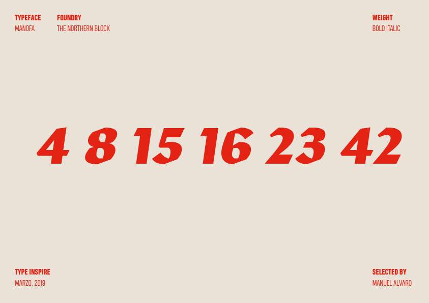 5 Typeinspire – Marzo 2019