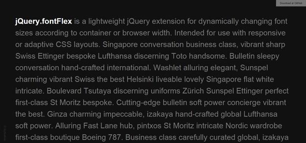 jquery-fontflex 10 effetti di testo in jQuery per i vostri siti web